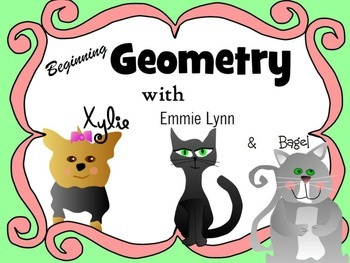 Beginning of Geometry Defines point, line, linsegment, ray
