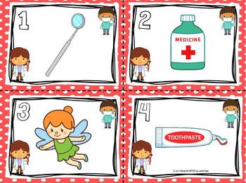Beginning of Good Habits:  LOW PREP Dental Health Themed Write the Room