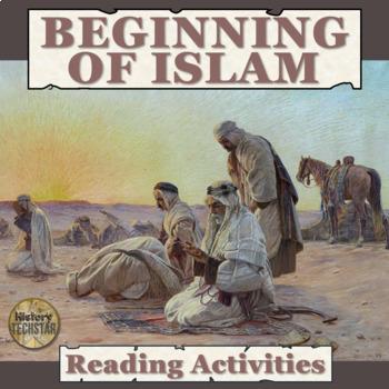 Beginning of Islam Reading Activities