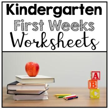 Beginning of Kindergarten Pack
