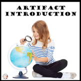 First Day of School Artifact Introduction Primary Source Activity