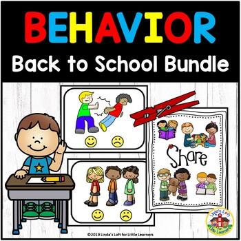 Beginning of School Behavior Bundle