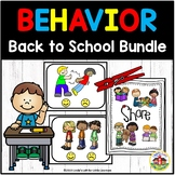 Beginning of School Behavior Bundle