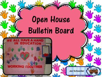 Beginning of School Bulletin Board Craft