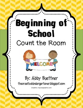 Beginning of School Count the Room Math Center