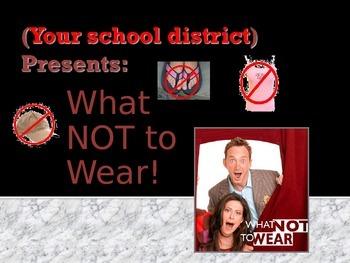 Beginning of School - Dress Code Policy