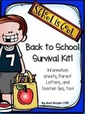 Beginning of School, Open House, Meet the Teacher Survival Kit