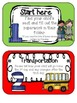 Beginning of School, Open House, Meet the Teacher Survival Kit