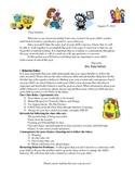 Beginning of School , Parent Teacher, Student Contract
