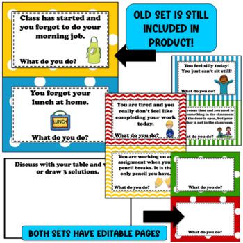Beginning of School Procedures ~ Editable