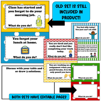 Beginning of School Procedures - Editable