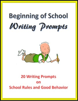 Beginning of School Writing Prompts