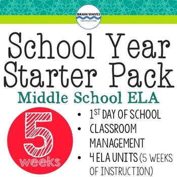 Beginning of School Year BUNDLE! - 1st Day of School, Class Management, 4 Units