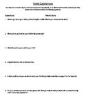 Beginning of School Year Parent Questionnaire