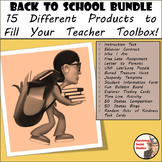 BACK TO SCHOOL - Beginning of the Year Starter Kit - 15 SOCIAL STUDIES PRODUCTS