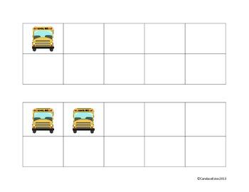 Beginning of School tens frames