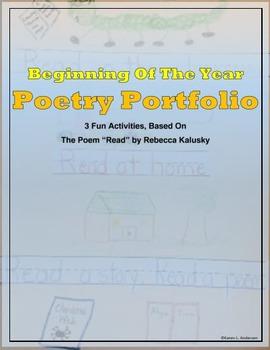 Beginning of The Year Poetry Portfolio