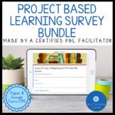 Beginning of The Year Survey Bundle: PBL Edition (Google F