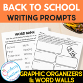 Writing Prompts for Second Graders   Back to School Themes