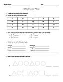 Beginning of Year 1st Grade Math Screener
