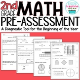 Beginning of Year 2nd Grade Math Pre-Assessment