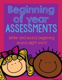 Beginning of Year Assessment