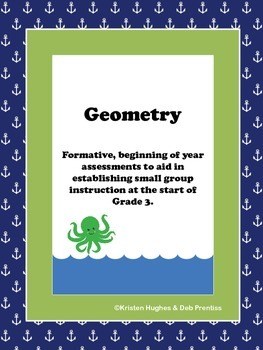 Nautical Gr. 3 Beginning of Year Formative Assessment-Geom