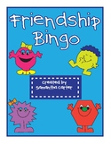 Beginning of Year Friendship Bingo Game