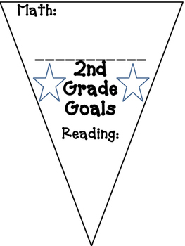 Beginning of Year Goal Pennants