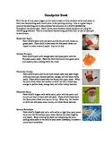 Beginning of Year Handprint Book--handwriting activity