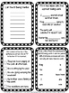 Beginning of Year Language Arts Task Cards