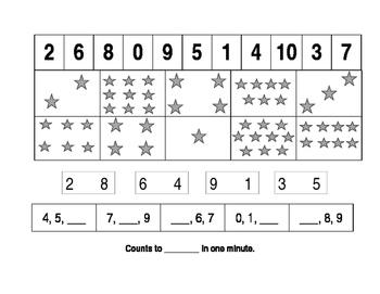 Beginning of Year Math Assessment