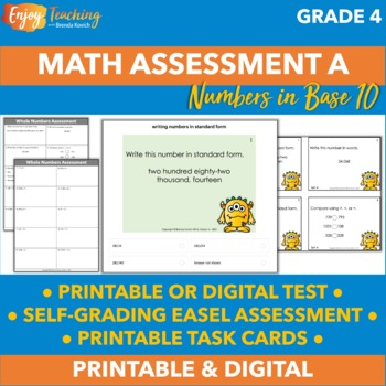 Beginning of Year Math Assessment and Checklists - Task Ca