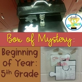Beginning of Year Math Mystery Activity