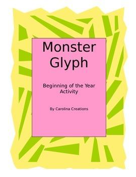 Beginning of Year Monster Glyph