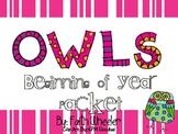 Back to School Owl Decor