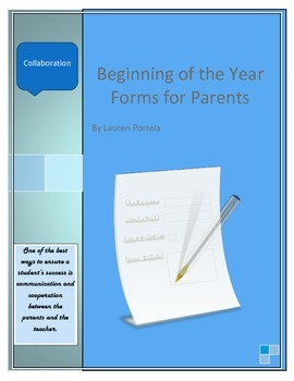 Parent Forms