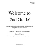 Beginning of Year Parent Handbook