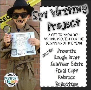 Beginning of Year Spy Writing Project