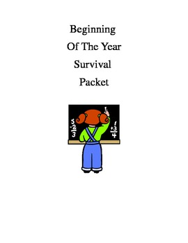 Beginning of Year Survival Packet