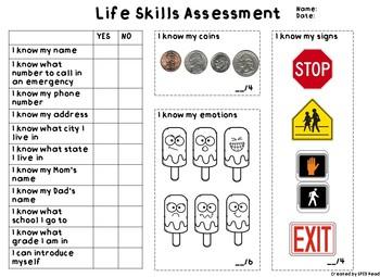 Beginning of Year/IEP Assessment