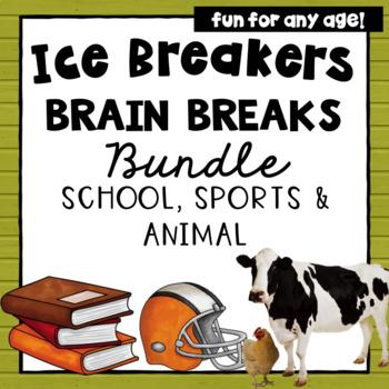 Brain Breaks- Icebreakers