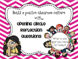 Beginning of the Day Opening Circle Reflection Cards