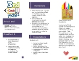 Editable Beginning of the School Year Pamphlet