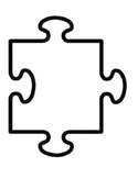 Beginning of the School Year - Personalized Puzzle Piece Activity