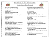 Beginning of the School Year Procedures FREEBIE