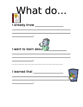 New Skill Introduction/Exit Ticket for Parents