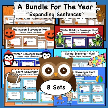 Expanding Sentences Bundle