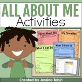 All About Me Worksheets and Book- All About Me Google Slid