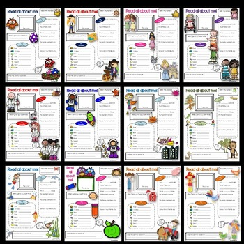 First Day of School Activities BUNDLE (All About Me Sheets)